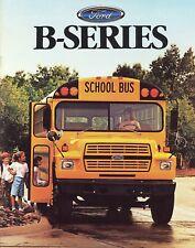 1987 Ford B-Series School Bus B-600 B-700 B-7000  Brochure  -  Mint!