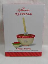 2014 Hallmark Keepsake Ornament A Pinch Of Love Mixing Bowl Spatula  Loc B44