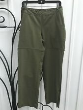 Women's 8 COUNTOUR WEAR SCHOELLER Sweat Sexy Olive Convertible Hiking Pants EXC