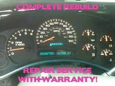 2003-06 GM TrailBlazer Envoy Speedometer Gauge Cluster FULL REPAIR SERVICE 04 05