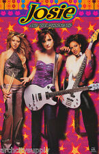 POSTER :MOVIE REPRO: -JOSIE & THE PUSSYCATS - GROUP - FREE SHIP! #3502 RP74 H