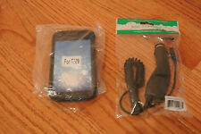 Black Case and Car Charger For Samsung Galaxy S II (S2)