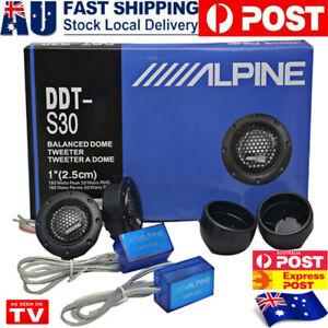 "DDTS30 25MM 1"" 360W Dome Balanced Car Speaker Audio Tweeter Crossover AU SOLD🙌"