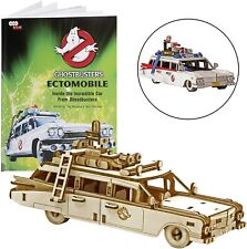 Ghostbusters - Ectomobile - Incredibuilds - 3D Wood Model - Brand New 84222