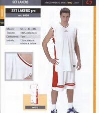 Offre Ensemble Basket-Ball Sportika Mod. Set Lakers Sans Double Stock Sport Foot