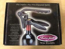 New listing The Original Insta-pull 5 Piece Wine Ensemble Enjoyment System (2002)