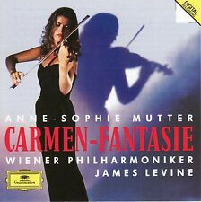 Carmen-Fantasie Anne-Sophie Mutter, James Levine VIVALDI SARSATE MASSENET