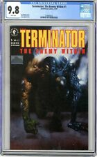 Terminator: The Enemy Within   #1   CGC  9.8   NMMT  White pages   1991