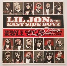 Lil Jon Signed What U Gon' Do Roll Call Vinyl Record YEAH Hip Hop RAP LEGEND RAD