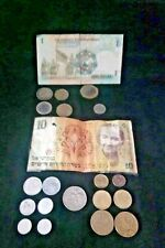 VINTAGE . lots of old Coins and old papers dating back more than sixty years ago
