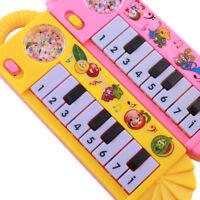 12 Tasten Piano Kinderpiano Keyboard Spielzeug Klavier Musikinstrument Mikrofon