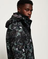 Chaqueta con capucha para hombre Pop Zip Impresión Ártico SD-Cortavientos Chaqueta