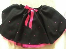 Adult Ladies Irish Dancing black with net Competition SKIRT Group Dance