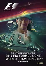 FIA Formula One World Championship - Official review 2014 (New 2 DVD set) F1