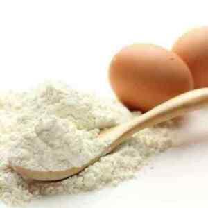 100% Dried Hen Egg White Albumen  Protein Powder 200 gr./8 oz.