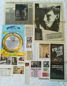 From The Jam Foxton Buckler Solo UK Press Cuttings Clippings 1980s - 2010s