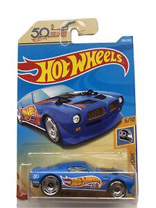 Hot Wheels '70 Pontiac Firebird 50th Race Team Toy Car