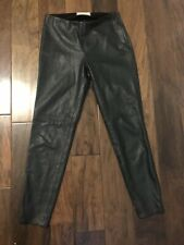 Free People Faux Leather Pants Sz 4