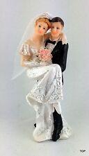 Tortenaufsatz Brautpaar Figur Hochzeitstorte 13 cm Tortenfigur