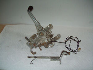 Vintage Troy Bilt Model 47287 Lawn Chipper / Vacuum Part: Engine Linkages