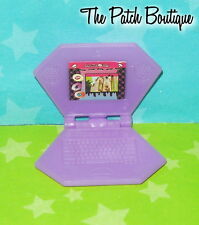 MONSTER HIGH CATACOMBS PLAYSET DOLL SIZE REPLACEMENT PURPLE LAPTOP COMPUTER ONLY