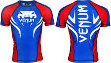 Venum Electron 2.0 Short Sleeve Rashguard - medium m mens blue  bnwt