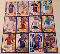 MATCH ATTAX CHAMPIONS LEAGUE 2017/18 LIMITED EDITIONS 100 CLUBS CLUB 11S HH