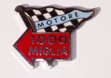 STEMMA LOGO BADGE ADESIVO ABARTH MOTORE 1000 MIGLIA ENGINE EMBLEM