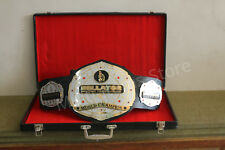 MMA UFC Bellator Kickboxing World Championship Replica Belt 4mm with free BOX