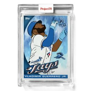 Topps Project 70 Card 409 2010 Vladimir Guerrero by Britteny Palmer PRESALE #409