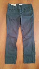 LIU Jeans by LIU JO 30 x 29 GRAY Pants Zip Pocket Sequins Stretch
