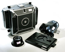 Linhof technika master 45 4x5 camera w/Wista focusing screen & hand grip  #X0063