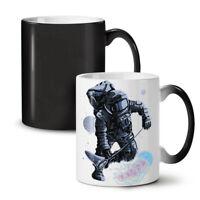 Space Astronaut Fashion NEW Colour Changing Tea Coffee Mug 11 oz | Wellcoda
