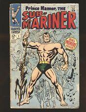 Sub-Mariner # 1 Fair/Good Cond. top staple detached