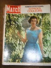 Paris Match N° 733 27 avril 1963 Alexandre de Kent Wilma Rudolph René Verdon