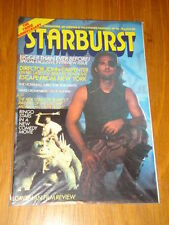 Starburst Monthly August Science Fiction Magazines