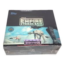 Star Wars The Empire Strikes Back Topps SEALED BOX Trading Cards Widevision