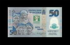 """2010 """"COMMEMORATIVE ISSUE"""" CENTRAL BANK OF NIGERIA 50 NAIRA AFRICA (( GEM UNC ))"""