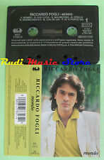 MC RICCARDO FOGLI Mondo 1992 italy CGD 9031 77357-4 no cd lp dvd vhs