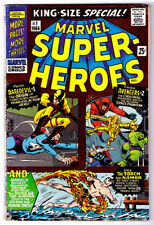 MARVEL SUPER-HEROES #1 King-Size Special a 1966 Silver Age comic Avengers #2