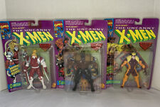Lot of 3 Marvel Evil Mutants The Uncanny X-Men Tusk🔹Sabretooth🔹OmegaRed ToyBiz