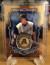 2004 Upper Deck Etchings Randy Johnson Diamondbacks Game-Used Bat Piece #/250