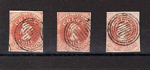 CHILE First issues Colon Columbus 5c NO flaws NO reserve