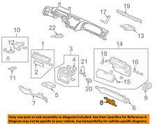 HONDA OEM 13-16 Accord Dash Cluster Switch-Hole Cover 77755T2FA00ZA