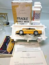⭐️Franklin Mint 1986 Yellow Chevrolet Corvette - 1:24 Diecast⭐️