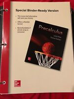 Precalculus 1st Edition By Miller and Gerken, Mcgraw-Hill Education, 2017