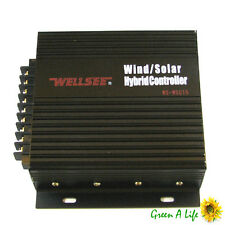 30A Auto 12V 24V Wind Turbine Solar Power Hybrid Controller Regulator Inventer
