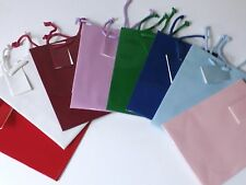 """72 - Gift Bags Medium Assorted Solid Colors -10"""" X 8"""" X 4"""""""