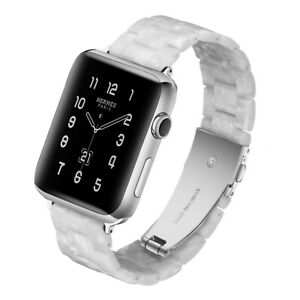 Tortoise Shell Resin Watch Band Strap Bracelet For Apple Watch Series 1 2 3 4 5