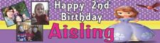 Sofia The First Birthday Poster Banner Personalised to your desires - just ask??